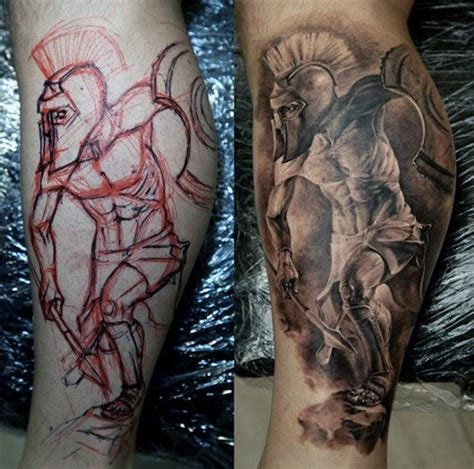 calf tattoos designs for men top 75 best leg tattoos for sleeve ideas and designs