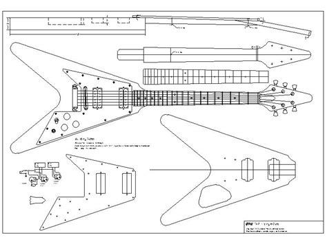 Blueprints Maker 67 flying v