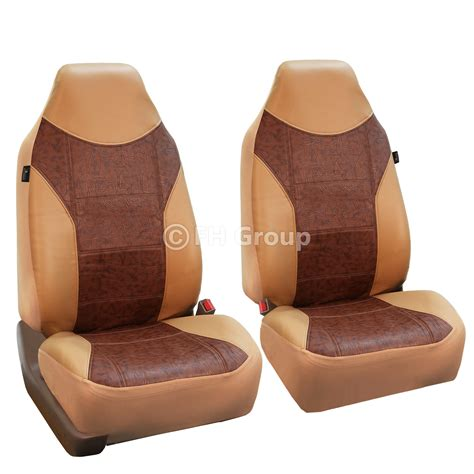 in front seat faux leather car seat covers front seat airbag ready for