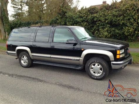 gmc chevrolet suburban 4x4 4wd lpg lhd 8 seater low milage
