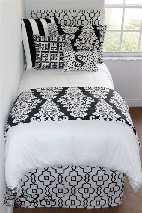 damask headboard 1000 images about college dorm room bedding on pinterest