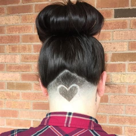 triangle with slight graduation with shaved head 50 alluring undercut hairstyles for chic ladies in 2016