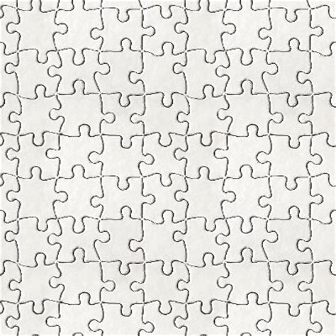 pattern of small white clouds crossword free puzzle pieces background tiled white background