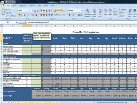 Home Finances Spreadsheet by Monthly Budget Spreadsheet Home Finance Management Excel