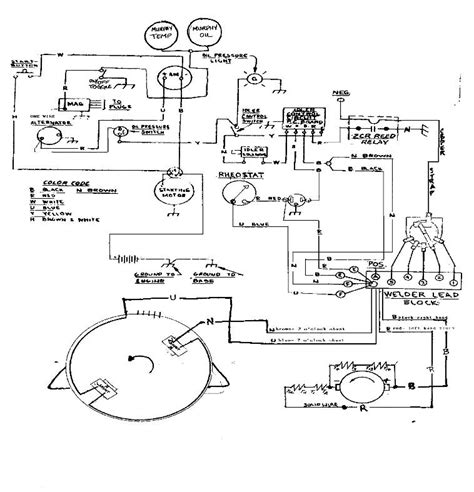 welder generator wiring diagram wiring diagram with