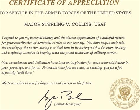 appreciation letter at the time of retirement retirement letter of appreciation from the president how