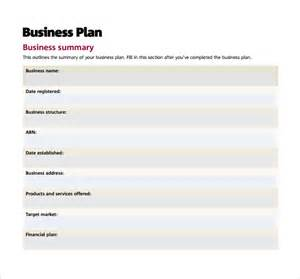 small business plan template doc 28 free small business plan template restaurant