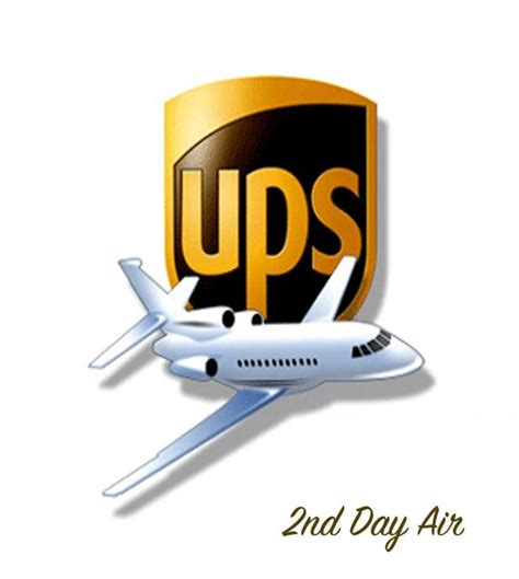 2nd day air with ups rushed shipping charge