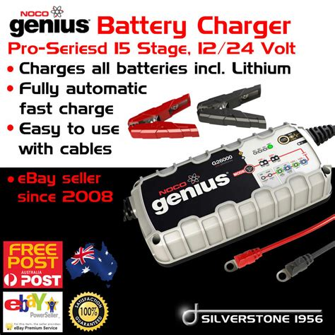 boat battery jump starter new genius car 4wd truck boat all battery smart charger