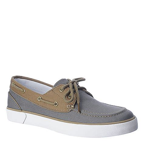 polo ralph lander p mens casual boat shoe