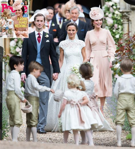 Pics Wedding by Inside Pippa Middleton And Matthews S Wedding Day