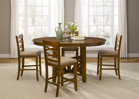 counter height bistro set bistro honey finish counter height dining set