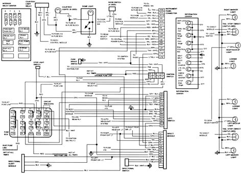 1993 cadillac gm ignition switch wiring diagram