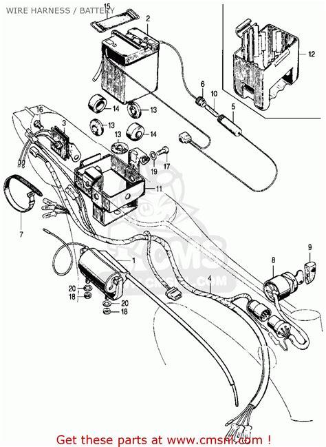 wiring diagram of honda motorcycle cd 70 new wiring