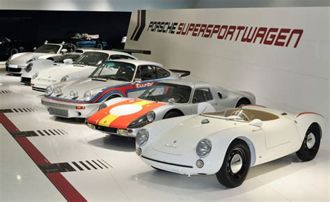 porsche museum cars porsche celebrates 60 years of super sport cars with