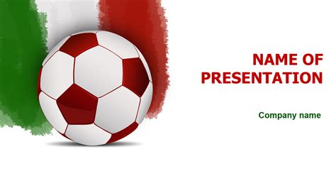football powerpoint template free italian football powerpoint template for impressive