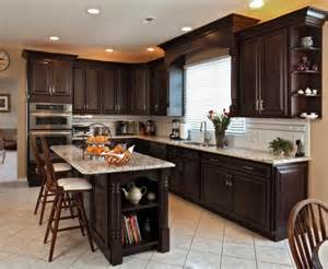 Cambria Kitchen Cabinets Love This Budget Kitchen Remodel With Refaced Dark