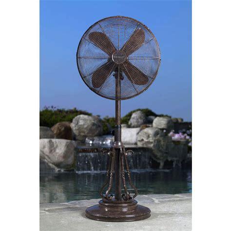 deco breeze outdoor fan outdoor fan 18 quot marabella adjustable outdoor standing