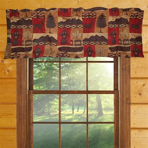 cabin window curtains western rustic curtains drapes valances pillows