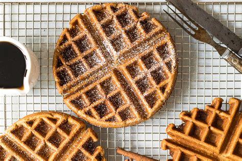 gingerbread waffles recipe simplyrecipescom