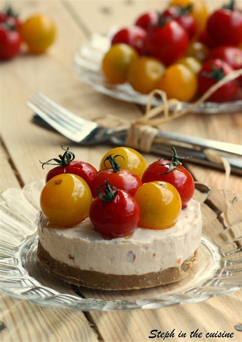 cuisiner les tomates s馗h馥s steph in the cuisine cheesecakes sal 233 s sans cuisson