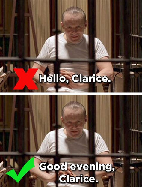 movie quotes you ve been saying wrong 17 best images about silence of the lambs on pinterest