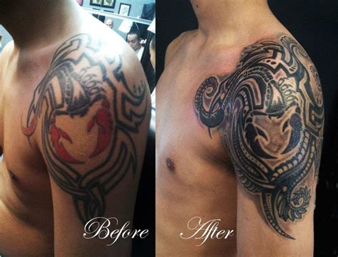 tattoo cover up toronto chronic ink tattoos toronto tattoo scorpion cover up