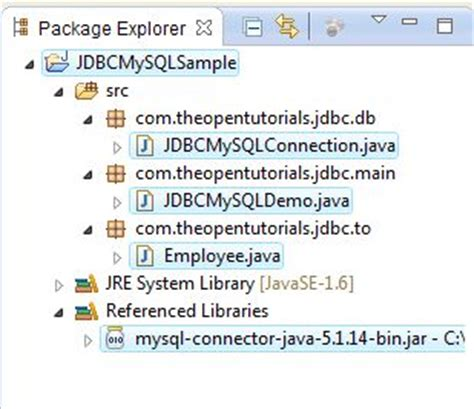 tutorial java jdbc jdbc mysql connection tutorial 187 the open tutorials