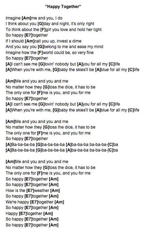house turtle island lyrics happy together the turtles ukulele chords ukulele uke