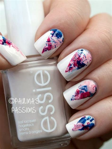 easy nail art designs marble 25 best ideas about water marble nail art on pinterest