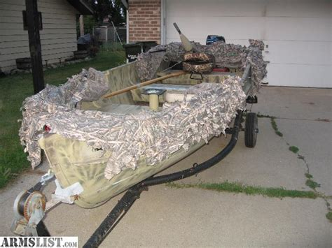 duck hunting boat sale armslist for sale duck hunting boat