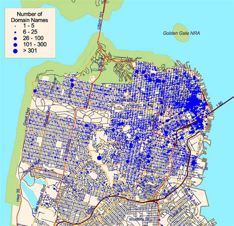 san francisco geography map an atlas of cyberspaces geographic