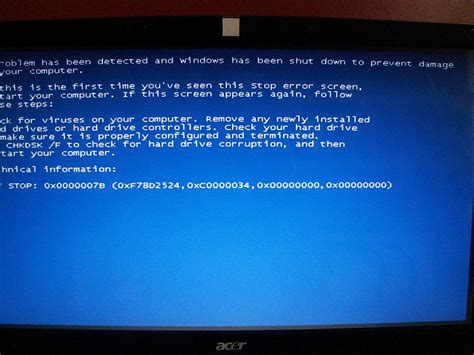 my acer laptop wont boot up