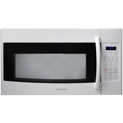 samsung 1 9 cu ft the range microwave in white with
