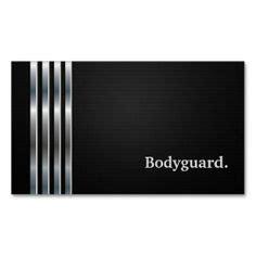 Bodyguard Business Card Templates by Bodyguard Business Cards