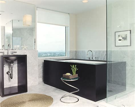 Bathroom Side Table Luxury 30 Bathrooms That Delight With A Side Table For The Bathtub