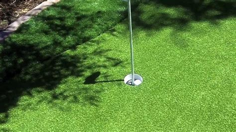 How To Make A Backyard Putting Green by Backyard Putting Green