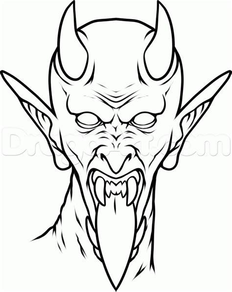 tattoo cartoon simple how to draw a satan tattoo step by step tattoos pop