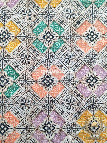 Kain Batik Cap Indigo Not Balok jual kain batik indigo coletan motif ganggong thebatik co id
