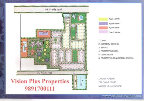 layout plan sector 56 faridabad era divine court sector 76 faridabad apartment flat