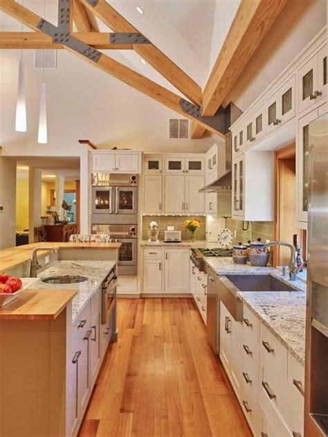 modern kitchen colors beige  natural wood shades