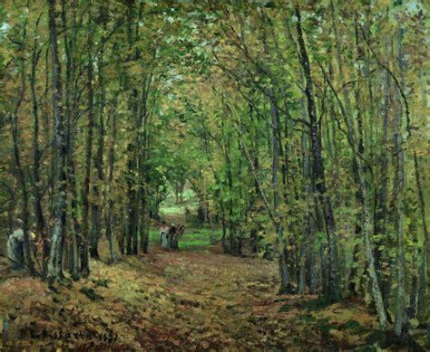 el bosque de los el bosque de marly pissarro camille museo nacional thyssen bornemisza