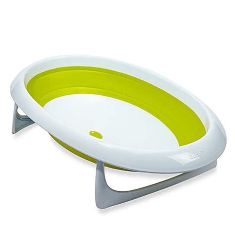 boon baby bathtub boon naked 2 position collapsible baby bath tub