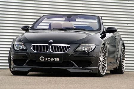 bmw m6 drop top g power builds supercharged m6 hurricane drop top