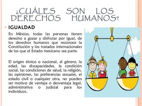 cuales son derechos humanos los derechos humanos