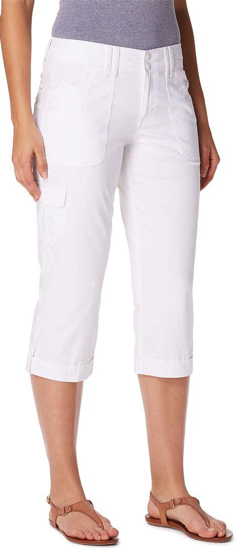 Gloria Vanderbilt Womens Mae Cargo Capris | eBay Gloria Vanderbilt Capris Pants