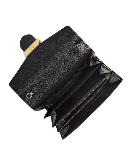Gucci Marmont Wallet On Chain gucci interlocking gg marmont leather wallet on chain black
