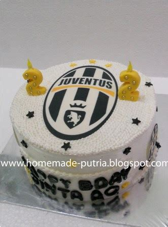 Kue Ultah Cover Fresh cake ultah jogja juventus cake versi simple home made