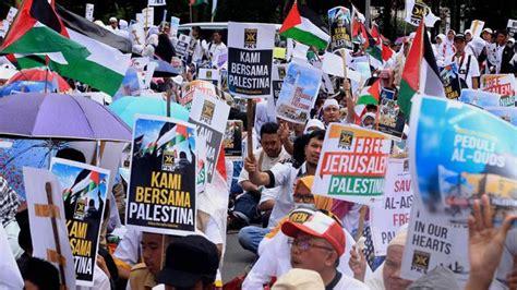 donald trump bela israel ketua icmi akan hadiri aksi bela palestina bersama mui