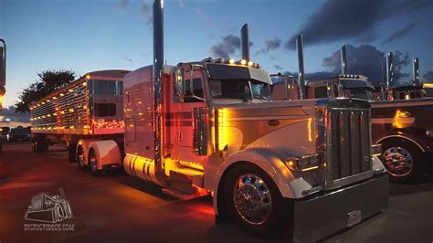 chicken lights and chrome chicken lights chrome at the rigs truck